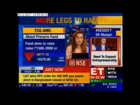 "ET Now - Discusses Primario Funds ""Corporate Capitalization"" theme"