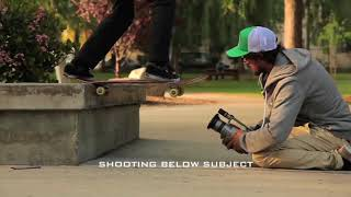 Как снимать скейт видео, как использовать фишай линзу - пара приемов по съемке скейтбординга.