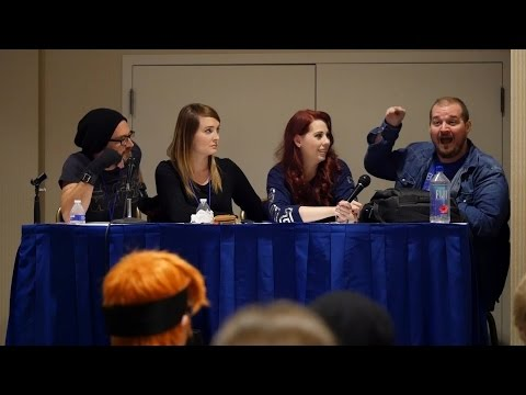 Anime USA 2016 - Acting Real Talk Q&A Panel