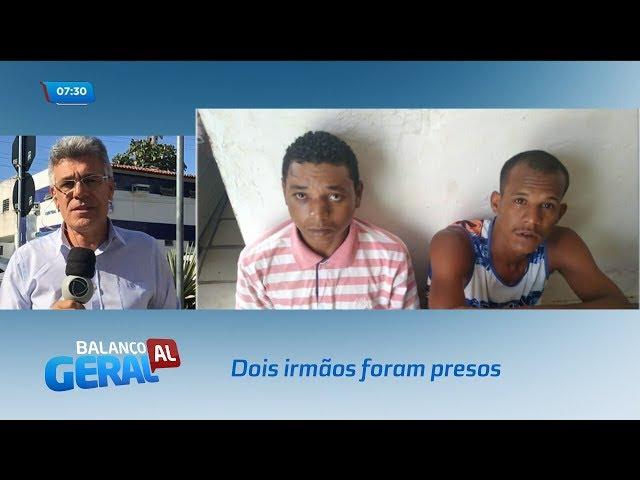 Dois irmãos foram presos suspeitos de arrombar veículos no bairro do Vergel