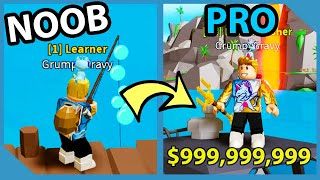 Noob VS Roblox Fishing Simulator