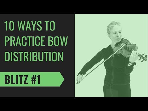 10 violin bow distribution tips