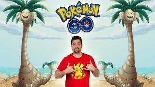 ¡PROBANDO el PRIMER POKÉMON con FORMA ALOLA de Pokémon GO! ¡TEAM EXEGGUTOR ALOLA vs GYM! [Keibron]
