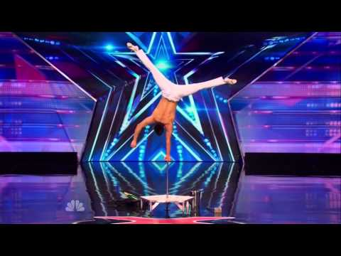America's Got Talent S09E04 Christian Stoinev Amazing 5th Generation Hand Balancer
