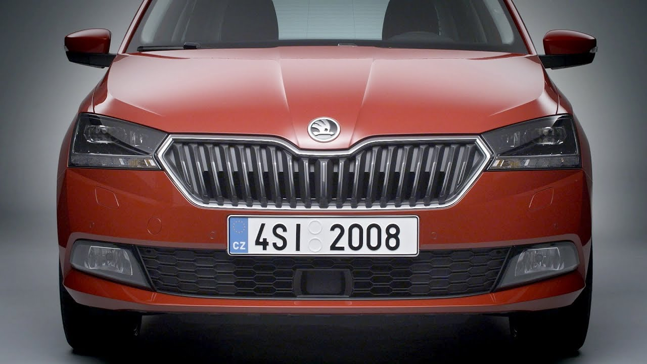 the new skoda fabia 2018 facelift exterior interior youtube. Black Bedroom Furniture Sets. Home Design Ideas