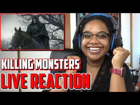 Killing Monsters Cinematic & Sword of Destiny Trailer  LIVE REACTION I Witcher Wednesdays
