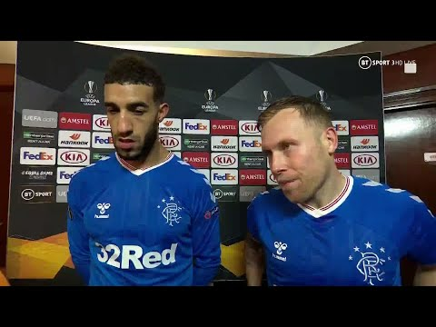 """""""Rangers' European journey speaks volumes of our character"""" Scott Arfield offers his thoughts"""