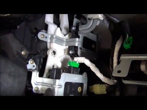 Subaru Legacy Vent Mode Actuator DIY Replacement - YouTube