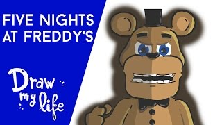 La HISTORIA de  FIVE NIGHTS AT FREDDY'S - Draw Club