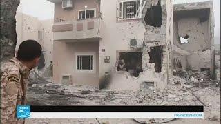 القوات الليبية تدخل الجيزة البحرية وتحاصر آخرماتبقى من الجهاديين