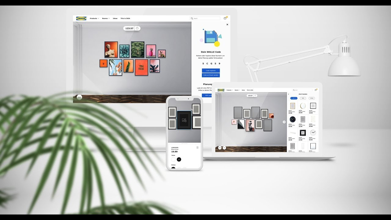Interactive 3d Wallspace Planner For Ikea Germany Youtube