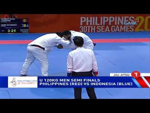 SEA Games 2019: Philippines Vs. Indonesia In U 120kg Men Semi Finals | Jiu-Jitsu