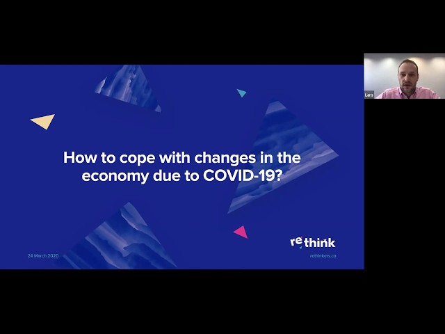 E-Residency Webinar: Rethink your business – How to cope with changes in the economy due to COVID-19