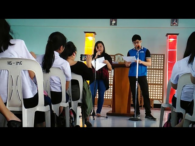 Freshman Girl and Junior Guy by Mina V. Esguerra performed by Salve Villarosa and Miguel Almendras