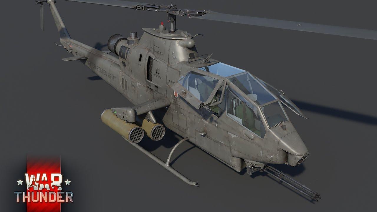 вертолеты в вар тандер