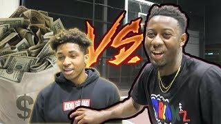 1v1 BASKETBALL AGAINST TRASH TALKER! TyTheGuy vs. DDG (EXPOSED)