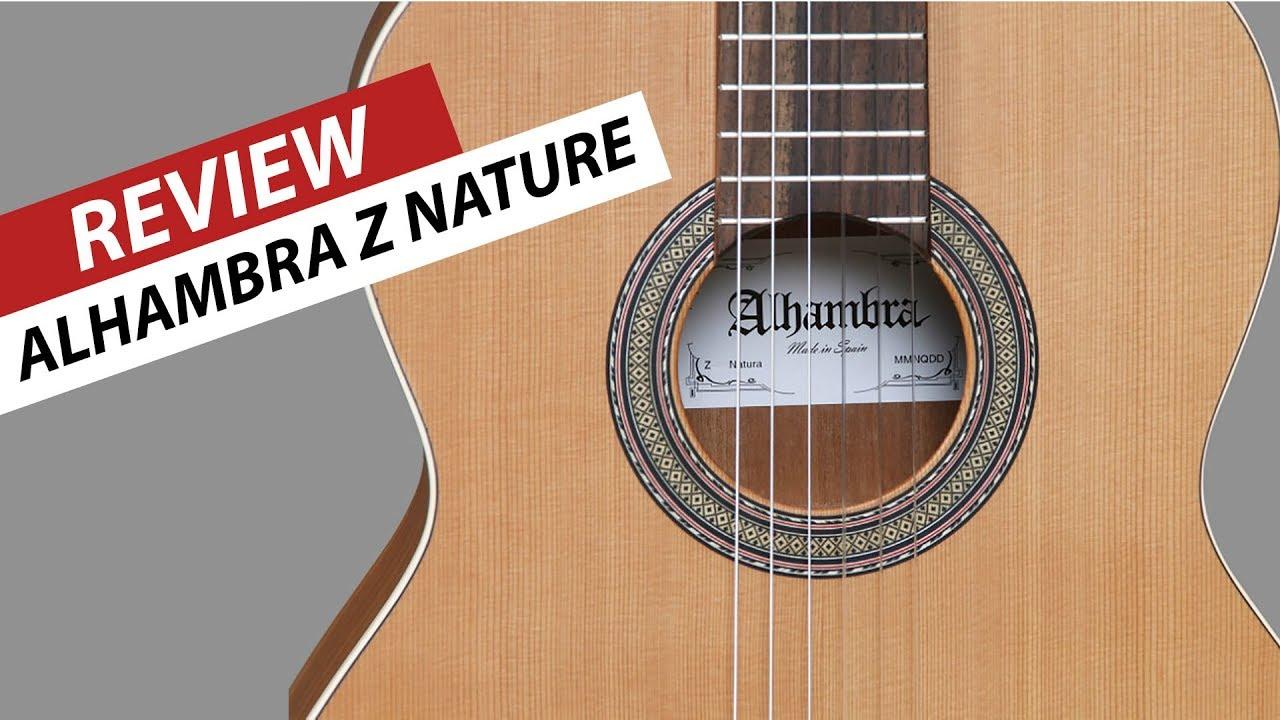 Review Y Alhambra Z Nature Guitarra Electroclásica