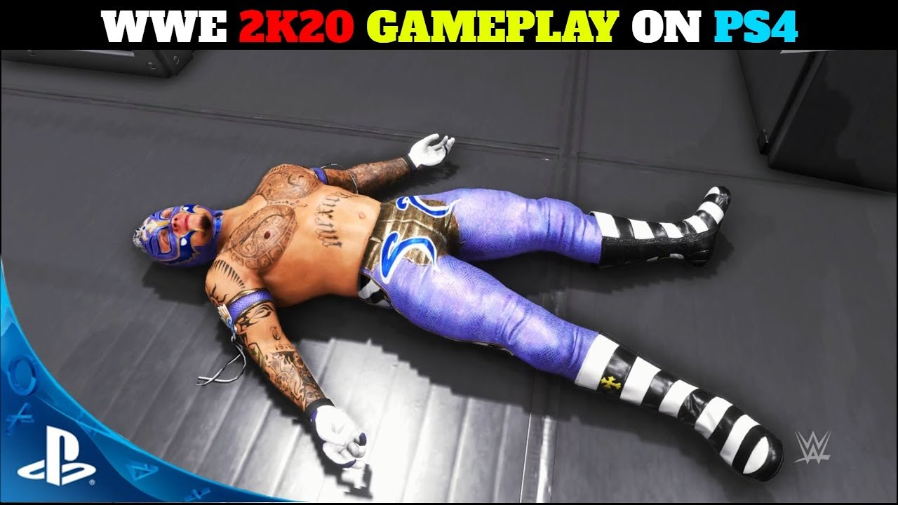 WWE 2K20 Gameplay On PLAYSTATION 4 - WWE 2K20 Gameplay On PS4   