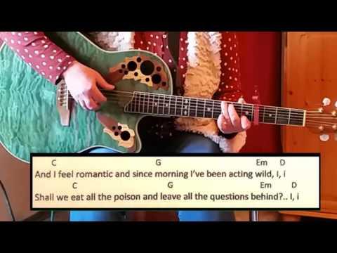 Roses - James Arthur  / Guitar / Tutorial / Lyrics / Cover / Easy Chords