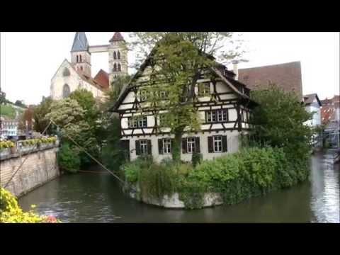 Old Town (Medieval) Area Of Esslingen Am Neckar, Germany