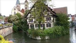 Old Town (Medieval) area of Esslingen am Neckar Germany
