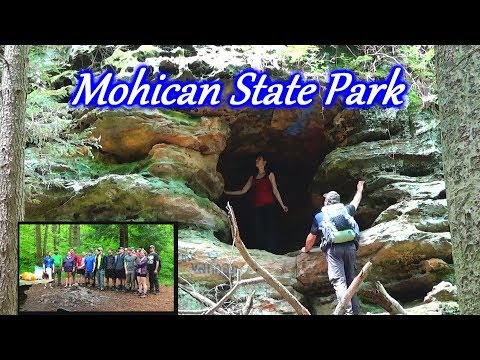 Backpacking & Hammock Camping Mohican State Park in Ohio - Outdoor Adventures Meetup!