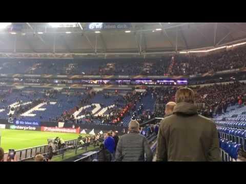 Three Little Birds - Ajax fans at Schalke 04