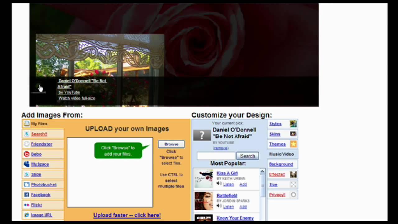 online create free website