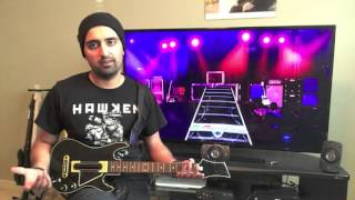 Using a Guitar Hero Live Guitar in Rock Band 4's Freestyle Guitar Solo Mode