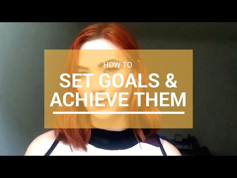 How To Set And Achieve Goals! | Beth Johnson hypnotherapy