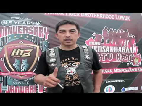 5th Anniversary Honda Tiger Brotherhood Luwuk