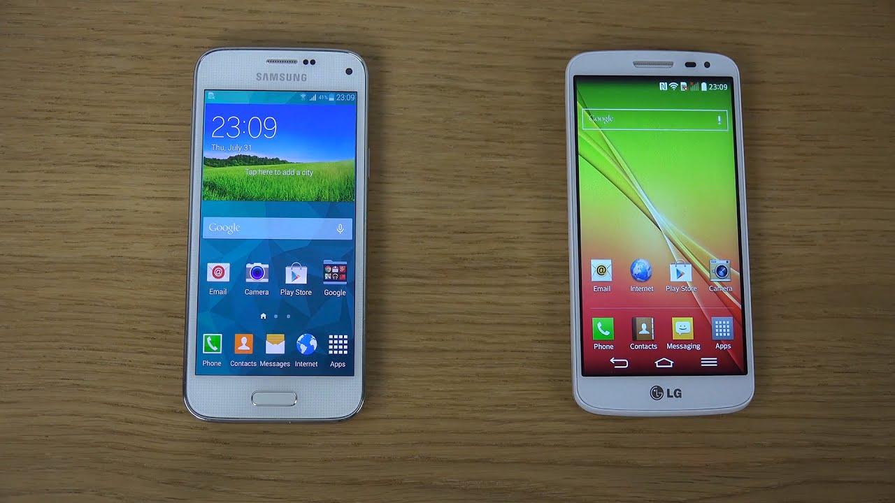 Samsung Galaxy S5 Mini Vs Iphone 5c