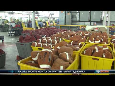 Inside Ada, Ohio's Wilson Football Factory