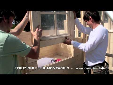 Come Montare Casetta In Legno Montaggio Casetta Di Legno