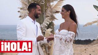 Así fue la divertida y emocionante boda de Anabel Pantoja y Omar Sánchez