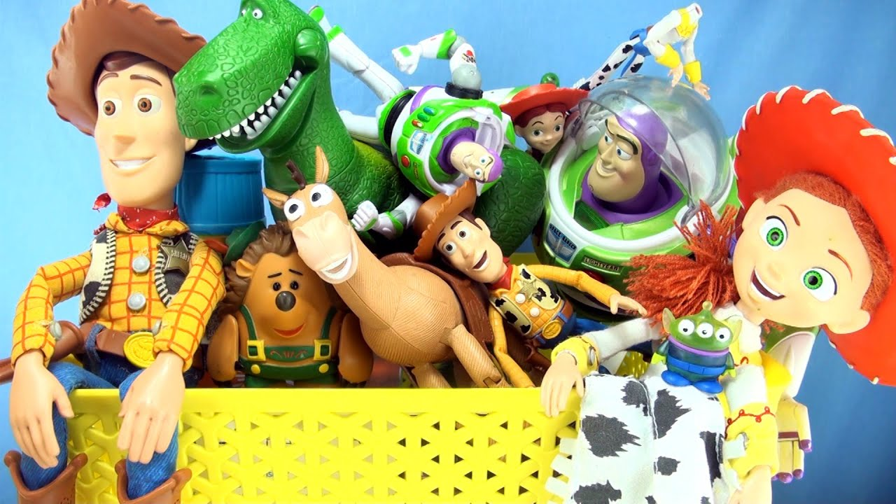 Toy Story Toys : Box of toy story toys collection characters from