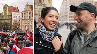 POLAND INDEPENDENCE DAY IN WROCLAW WITH LOCALS