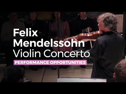 Felix Mendelssohn -  Violin Concerto Op 64 in E minor