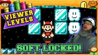 SOFT LOCKED! | Super Mario Maker 2 Super Viewer Levels with Oshikorosu! [16]