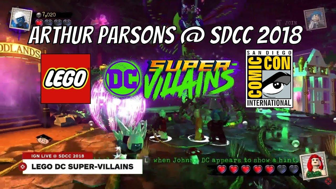 <b>LEGO DC Super Villains</b> - Arthur Parsons interview with IGN San ...