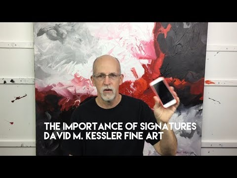 The Importance Of Signatures