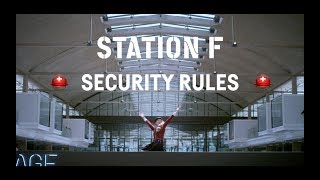 STATION F Security Video (feat. a hot fireman, a scuba diver and a puppy)