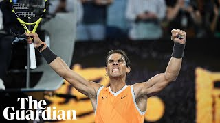 Rafael Nadal: 'It's so special to be back where I am'
