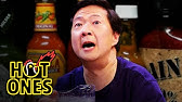Ken Jeong Performs a Physical While Eating Spicy WingsHot Ones