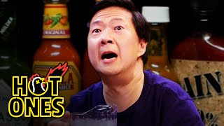 "Ken Jeong is known for his massively popular films like The Hangover and Crazy Rich Asians, his many hit TV shows including Community and The Masked Singer, and his hilarious standup—his first comedy special, ""You Complete Me, Ho,"" is out now on Netflix. But how is he with spicy food? Find out as the multitalented actor and former physician faces off against Sean Evans and the wings of death. As he battles the heat, Jeong dispels common medical myths, discusses his encounters with NBA legends like Shaq and Kevin Durant, talks about his first Prince concert, and even gives Sean a free check-up. You don't want to miss this one! BUY THE CLASSIC HOT ONES  HOT SAUCE NOW!: https://bit.ly/2Q1VfIh  BRAND-NEW HOT ONES MERCH available now: https://bit.ly/2AIS271  BUY your bottle of Los Calientes from Heatonist: https://bit.ly/2LMDxqS  SIGN UP for the Hot Ones Monthly Hot Sauce Subscription box: https://bit.ly/2veY50P  SUBSCRIBE to the brand-new Hot Ones podcast for extended cuts of classic interviews: https://apple.co/2vAceoH  Subscribe to First We Feast on YouTube: http://goo.gl/UxFzhK Check out more of First We Feast here: http://firstwefeast.com/ https://twitter.com/firstwefeast https://www.facebook.com/FirstWeFeast http://instagram.com/firstwefeast   First We Feast videos offer an iconoclastic view into the culinary world, taking you behind-the-scenes with some of the country's best chefs and finding the unexpected places where food and pop culture intersect."