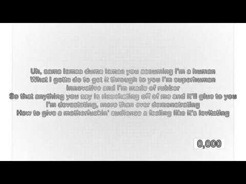 Super sonic speed rap god lyrics (enjoy)like and subscribe
