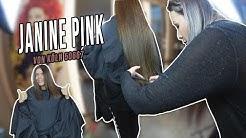 Haarverlängerung | Ultraschall Extensions Von Janine PINK Alias Yvonne von Köln 50667 Vorher/Nachher
