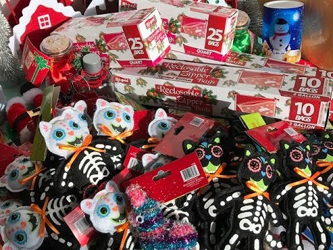 My 99 Cent Only Store Christmas 2017 Haul Hidden Giveaway Closed