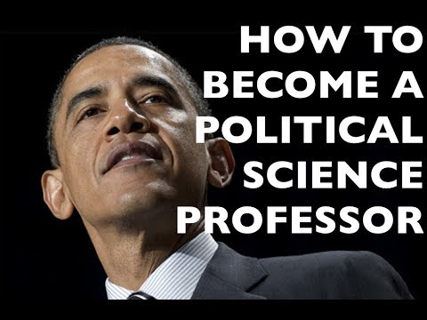 How to become a professor in POLITICAL SCIENCE