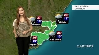 Previsão Grande Vitória - Chuva fraca em alguns momentos